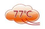 77℃熱風溫度自動控制
